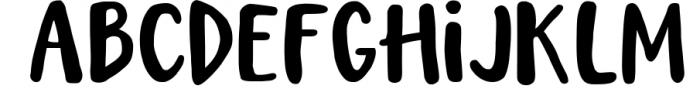 Magic Winter script font duo & logos Font LOWERCASE