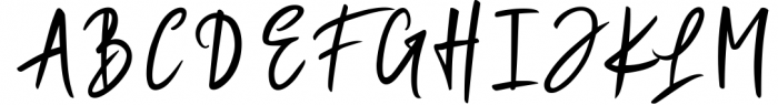 Magistoe script Font UPPERCASE