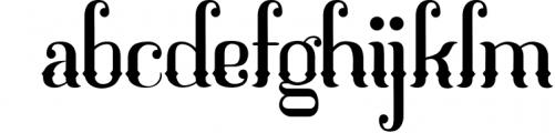 Mahaputra Font LOWERCASE