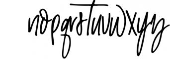 Malibu | Handwritten Font + Extras 1 Font LOWERCASE