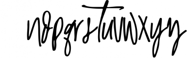 Malibu   Handwritten Font + Extras 2 Font LOWERCASE