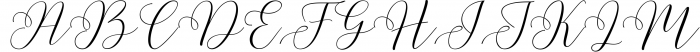 Malibu Script 2 Font UPPERCASE
