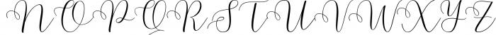 Malibu Script Font UPPERCASE