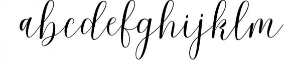 Malibu Script Font LOWERCASE