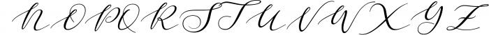 Malibu Font UPPERCASE