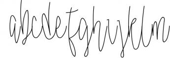 Malloy Font +Elements Font LOWERCASE