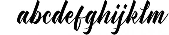 Manhattan Brush Script Font Swash 1 Font LOWERCASE