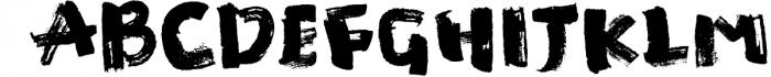 Manic Brush Script Font Font LOWERCASE