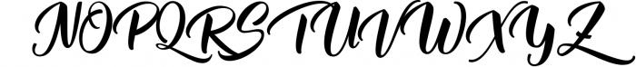 Mantera Script Font UPPERCASE