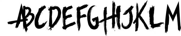 Manticore - Brush Font Font UPPERCASE