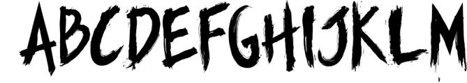 Manticore - Brush Font Font LOWERCASE