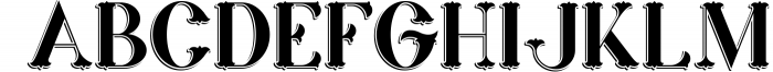 Marin - Victorian Font 1 Font UPPERCASE