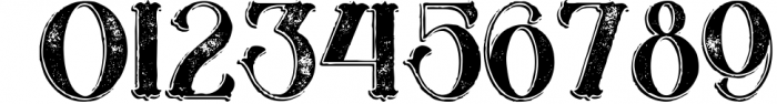 Marin - Victorian Font 4 Font OTHER CHARS