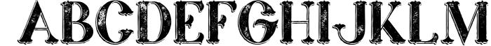 Marin - Victorian Font 4 Font UPPERCASE
