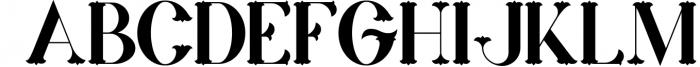 Marin - Victorian Font Font UPPERCASE