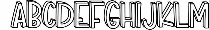 Match Box Font UPPERCASE