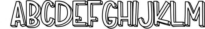 Match Box Font LOWERCASE