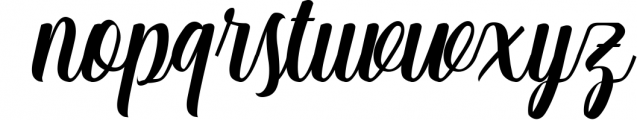 Matilda Anderson Font Duo 1 Font LOWERCASE