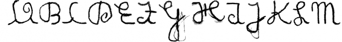 Matildas Grade School Hand_Pack 1 Font UPPERCASE