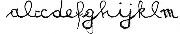Matildas Grade School Hand_Script Font LOWERCASE