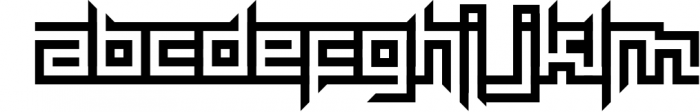 maYon exquisite 1 Font LOWERCASE