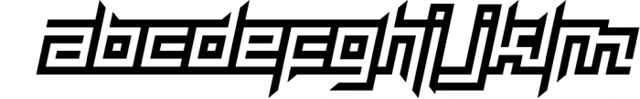 maYon exquisite Font LOWERCASE