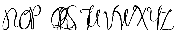 MA Sexy Font UPPERCASE