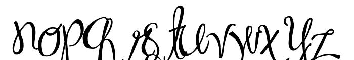 MA Sexy Font LOWERCASE