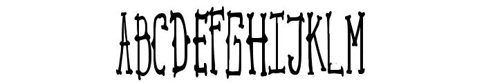 MACBETH Font UPPERCASE