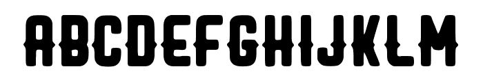 MACHO Font UPPERCASE