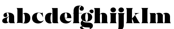 MADEBruno Font LOWERCASE