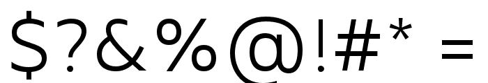 MADEFutureX-Light Font OTHER CHARS