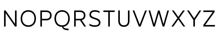 MADEFutureX-Light Font UPPERCASE