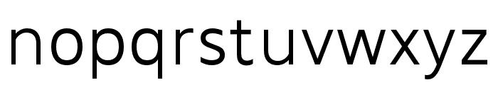 MADEFutureX-Light Font LOWERCASE