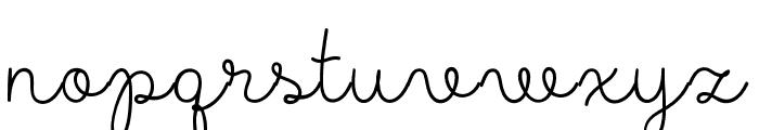 MADELikesScript Font LOWERCASE