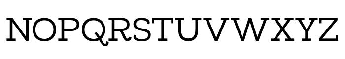 MADELikesSlab Font UPPERCASE