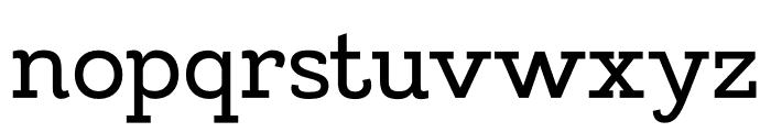 MADELikesSlab Font LOWERCASE