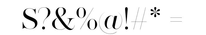 MADESAONARA Font OTHER CHARS