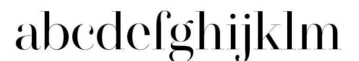 MADESAONARA Font LOWERCASE