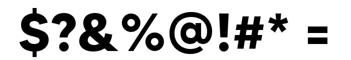 MADETOMMY-Bold Font OTHER CHARS