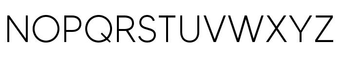 MADETOMMY-Light Font UPPERCASE