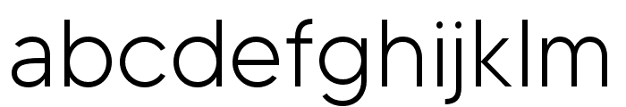 MADETOMMY-Light Font LOWERCASE