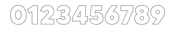 MADETOMMYOutline-ExtraBold Font OTHER CHARS