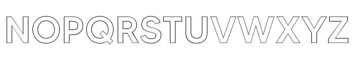 MADETOMMYOutline-Medium Font UPPERCASE