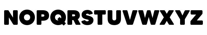 MADETommySoft-Black Font UPPERCASE