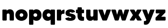 MADETommySoft-Black Font LOWERCASE