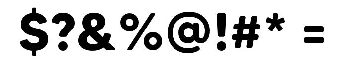 MADETommySoft-Bold Font OTHER CHARS