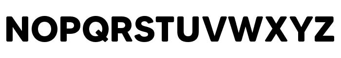 MADETommySoft-Bold Font UPPERCASE