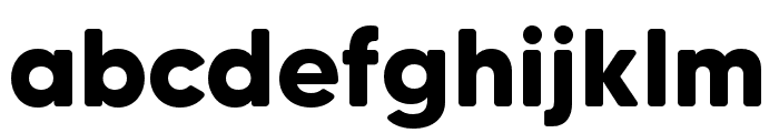 MADETommySoft-Bold Font LOWERCASE