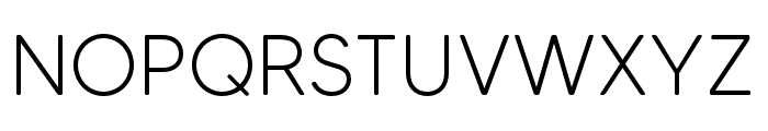 MADETommySoft-Light Font UPPERCASE